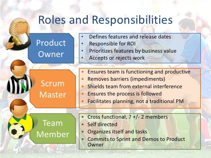 agile roles and responsibilities pdf