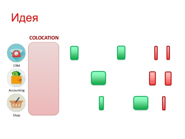 Идея CRM Accounting Shop COLOCATION