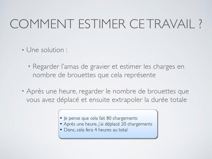 Estimation et planification Agile Slide 3