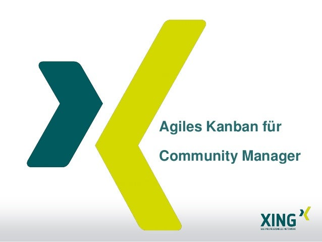 Agiles Kanban fürCommunity Manager