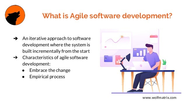 Understand the background of Agile software development now Slide 3