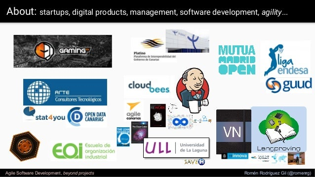 Agile software development - Beyond Projects - ULL Slide 3