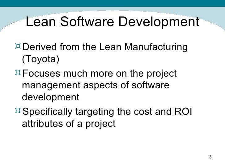 Agile Software Development Scrum Vs Lean Slide 3