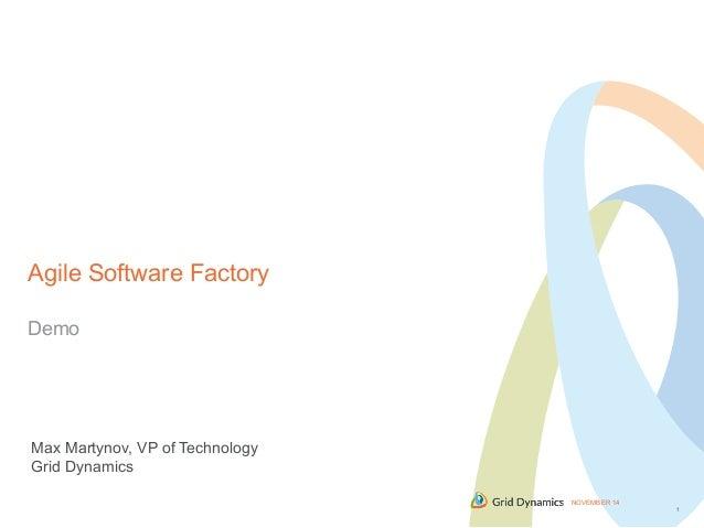 Agile software factory cloud expo devops summit 2014 demo - Comparatore a finestra ...