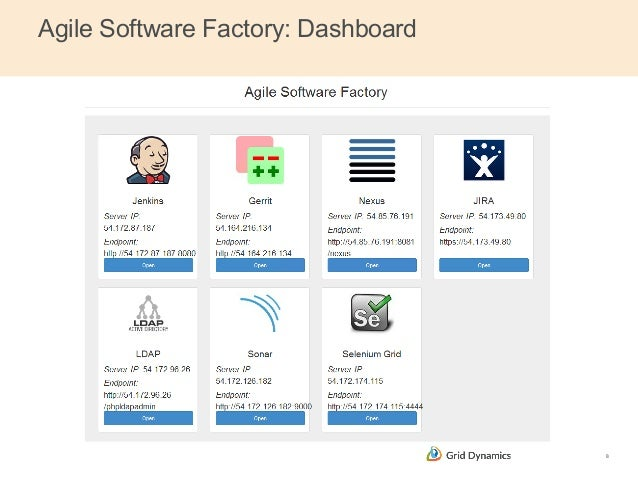 Agile Software Factory - Cloud Expo / DevOps Summit 2014 demo