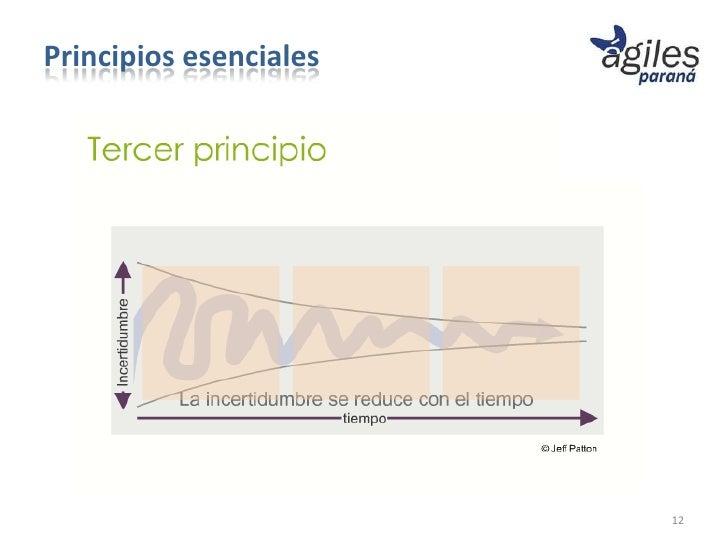 Principios esenciales                        12