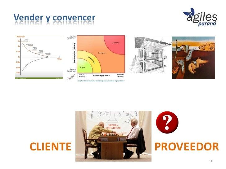 Vender y convencer   CLIENTE           PROVEEDOR                            31