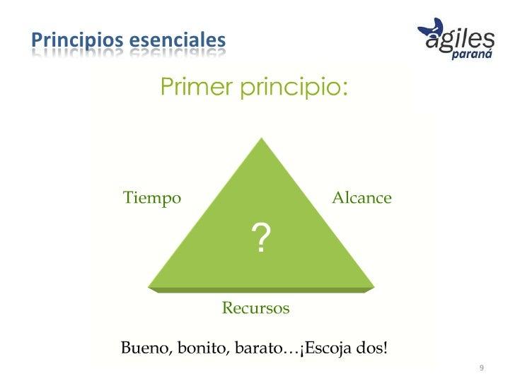 Principios esenciales                        9