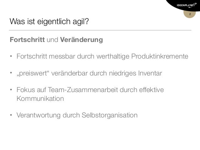 Agiles Schätzen Slide 2