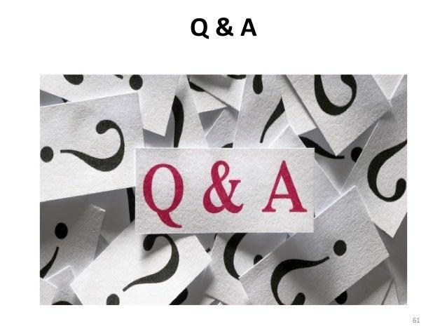 Q & A 61