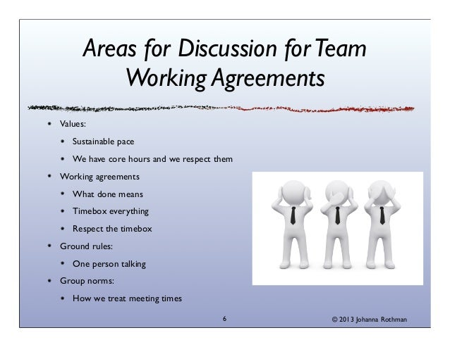 Agile Teams Collaboration Charter