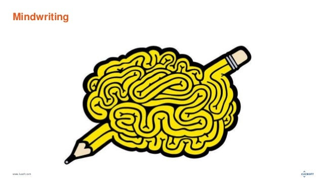 www.luxoft.com Mindwriting