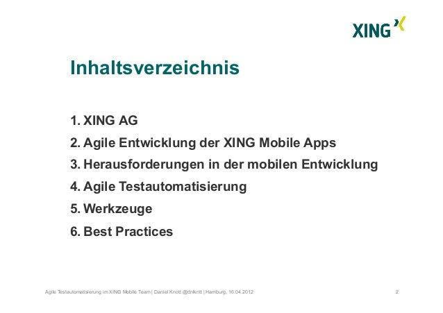 Mobile Testautomatisierung Slide 3