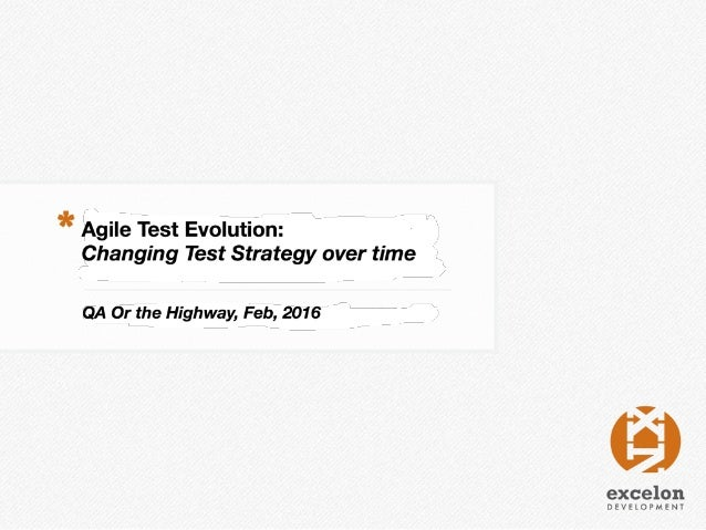Agile Test Evolution- Matt Heusser