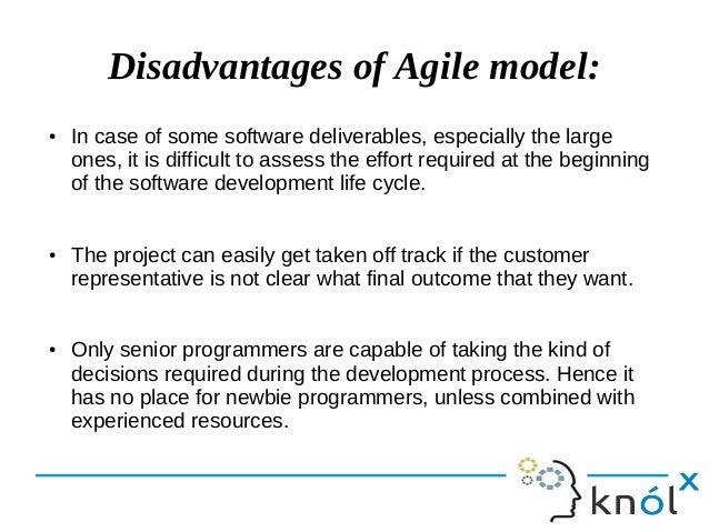 Introduction to agile for Waterfall methodology advantages and disadvantages