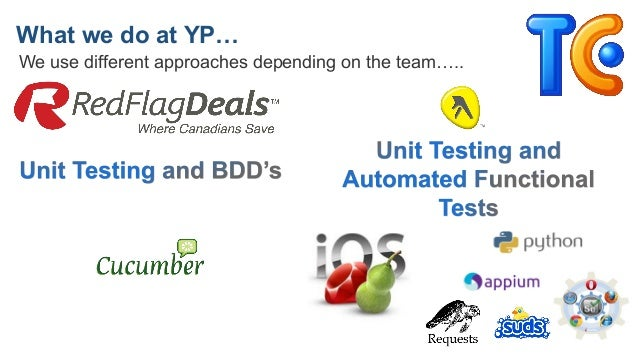 What we do at YP… We use different approaches depending on the team…..