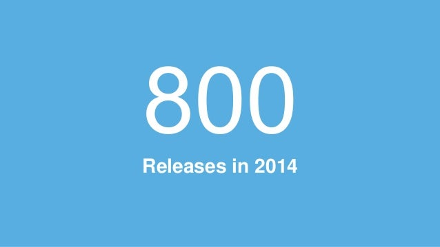 Releases in 2014