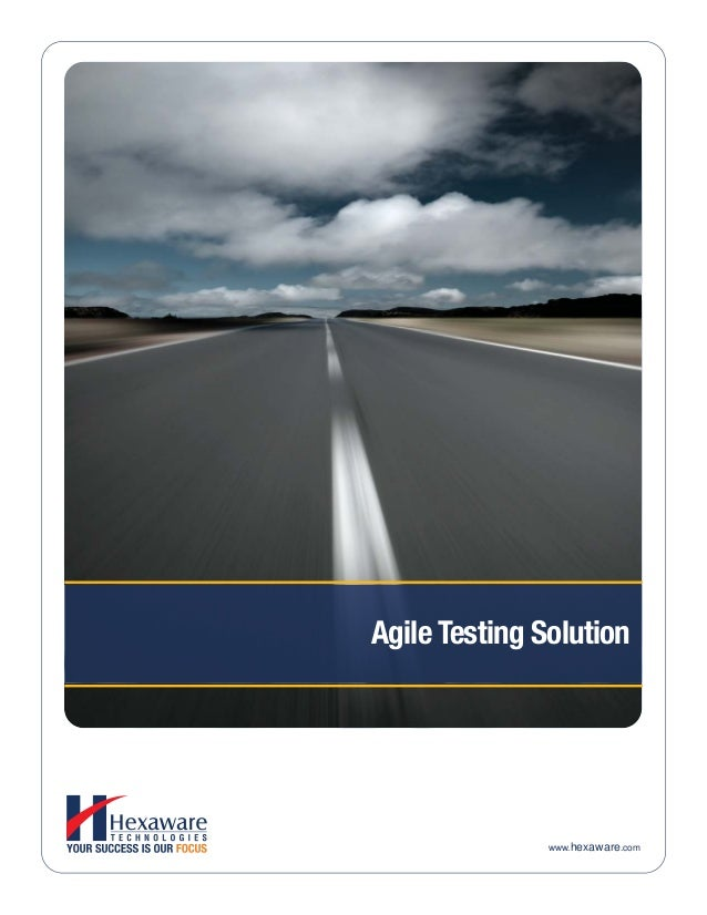 Agile Testing Solution www.hexaware.com