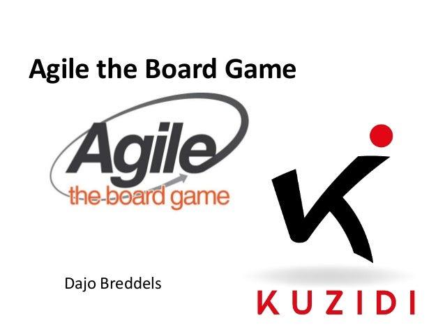 Agile the Board Game  Dajo Breddels
