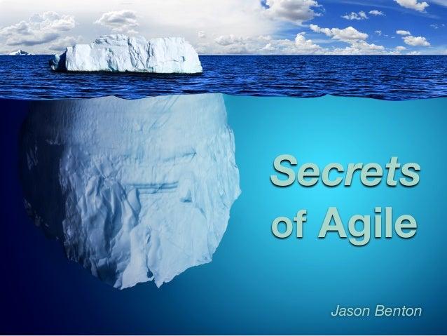 Secrets of Agile Jason Benton