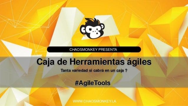 Agile Tools - Caja herramientas ágiles @RoseRestrepoV Slide 2