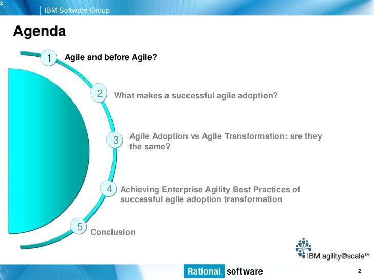Agile transformation best practices Slide 2