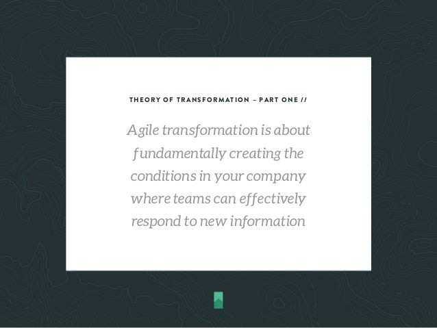 Agile transformation Explanined Slide 3