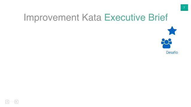 """7 Improvement Kata Executive Brief ⋆ """" Desafío"""