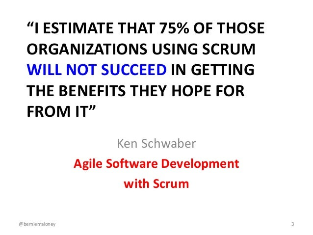 Agile at Enterprise Scale: The Tricky Bits Slide 3