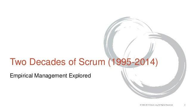 Agile Turkey summit 2014 - Empirical Management explored Slide 3