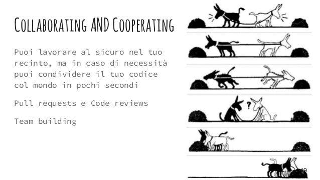 Collaborating ANDCooperating Puoi lavorare al sicuro nel tuo recinto, ma in caso di necessità puoi condividere il tuo codi...
