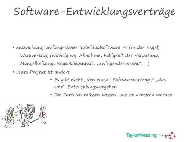 Agile Verträge Vertragsgestaltung Für Agile Softwareentwicklung