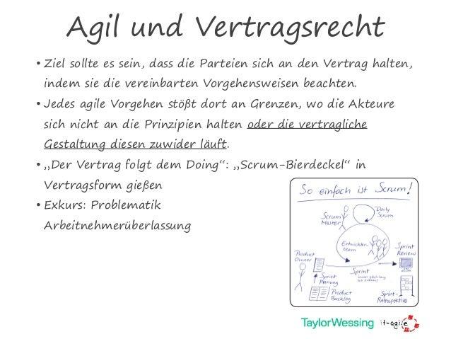 Vertragsgestaltung Für Agile Softwareentwicklung Oop 2018 München