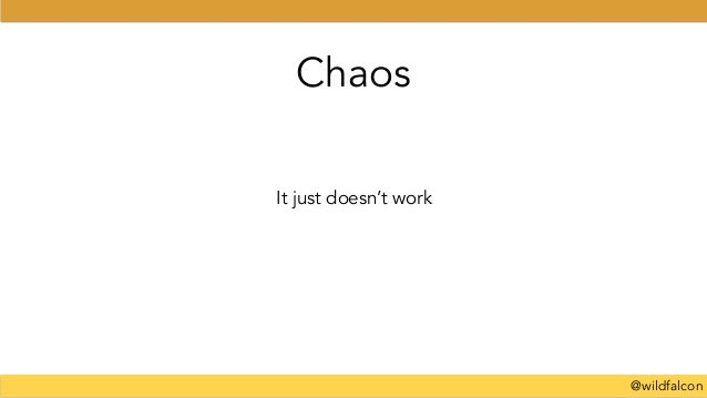 @wildfalcon It just doesn't work Chaos