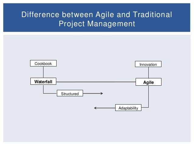 agile and traditional Dr blaize horner reich has recently completed a survey of projects to explore the influence of agile methods across many project types.