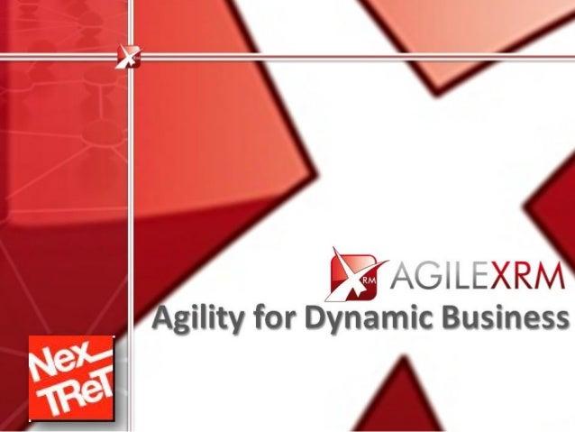 AgilePoint Company Proprietary agilexrm@agilepoint.com