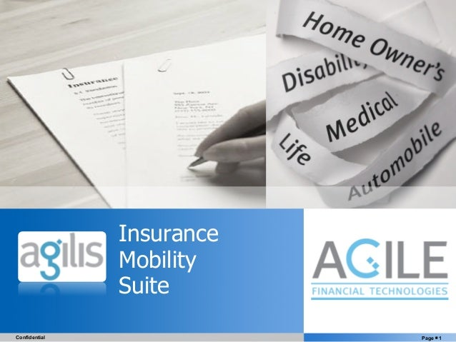 Insurance               Mobility               Suite                           YOUR LOGOConfidential                      ...