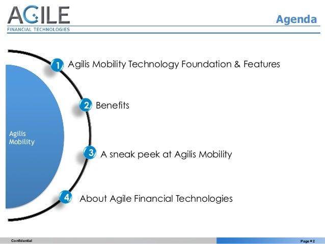Agilis Insurance Mobility Suite Slide 2