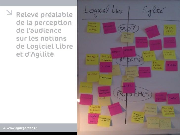 Agilité et Logiciels libres même combat ? Slide 2
