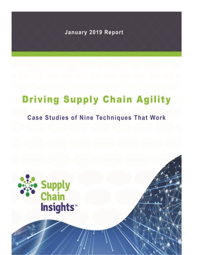 Driving Supply Chain Agility