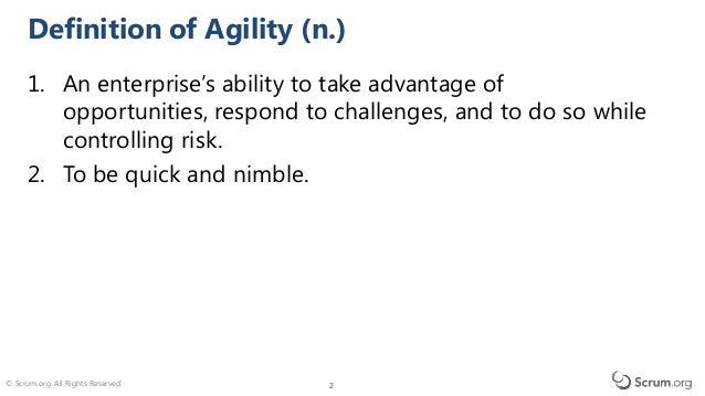 Agility Path Slide 2