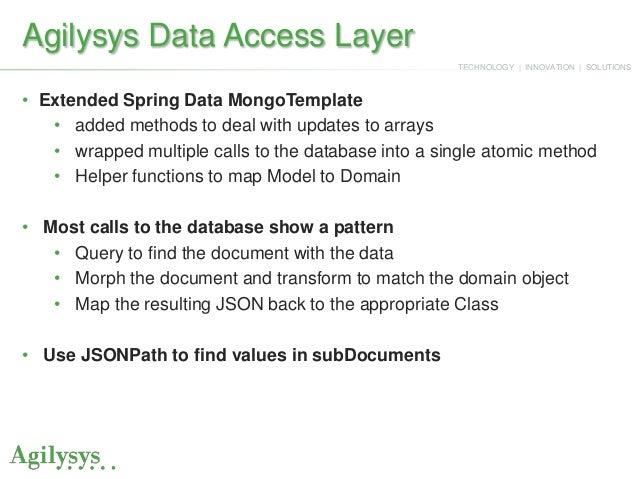 MongoDB at Agilysys: A Case Study