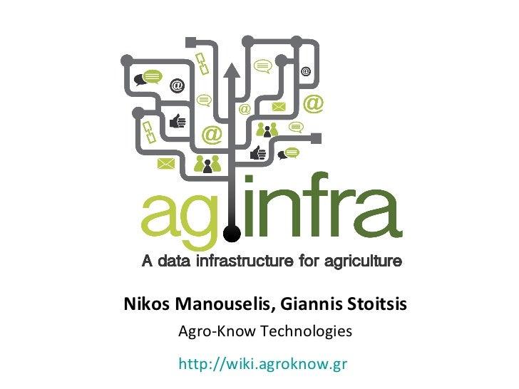 Nikos Manouselis, Giannis Stoitsis Agro-Know Technologies http://wiki.agroknow.gr