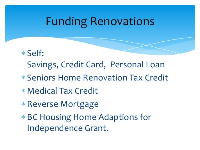 Can You Claim Home Renovations On Your Taxes