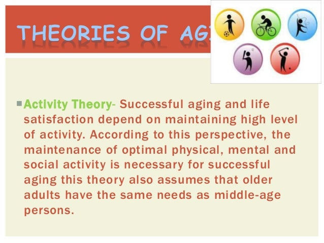 theory of successful aging This study attempts to advocate a new concept of successful ageing that  the  analysis was completed using a grounded theory approach.