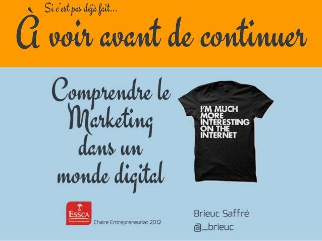 Agir dans le marketing aujourd'hui Slide 2