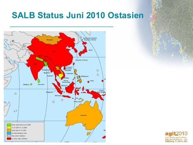 13 SALB Status Juni 2010 Ostasien