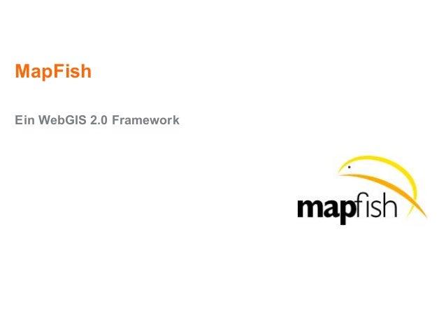 MapFish Ein WebGIS 2.0 Framework