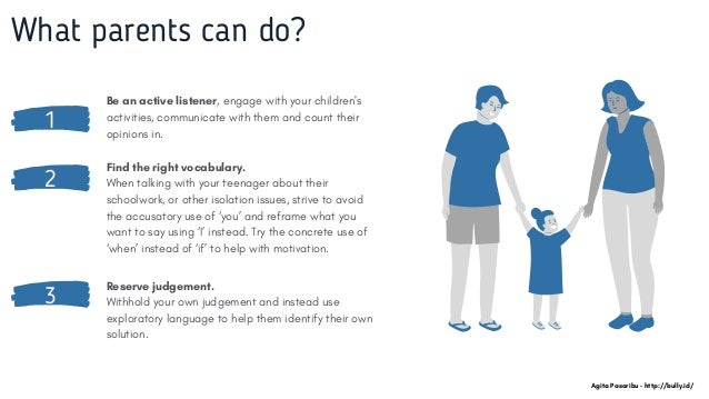 1 Be an active listener, engage with your children's activities, communicate with them and count their opinions in. What p...