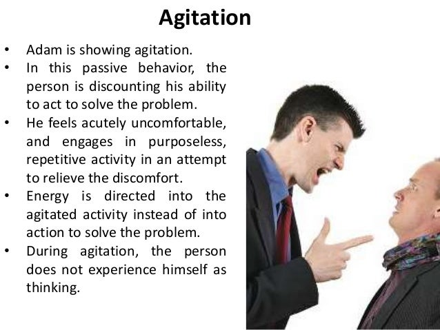 agitation - passive behavior - discounting (transactional analysis / …, Skeleton